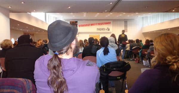 Großes Plenum: Rund 300 Menschen trafen sich am Wochenende im Münchner Gewerkschaftshaus. Fotos: as
