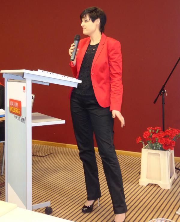 Neu auf den vorderen Listen Plätzen: Katja Vogel (Platz 4).