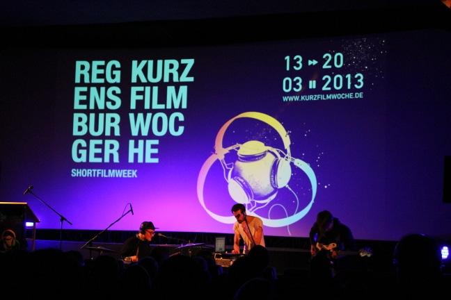 Viel, viel Film und viel Musik: Der Startschuss zur Regensburger Kurzfilmwoche 2013 ist gefallen. Fotos: Liese