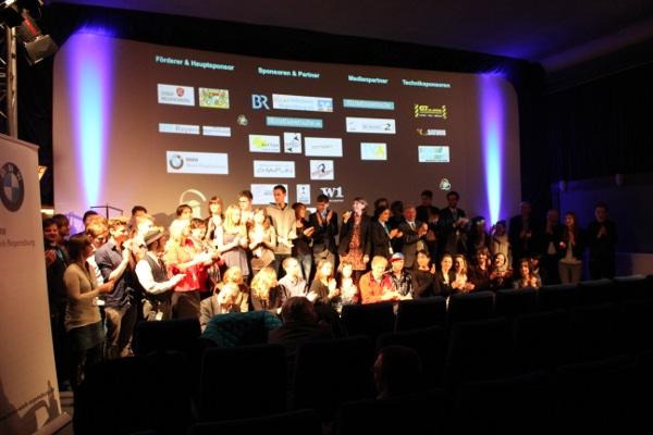Als Insa Wiese alle Juroren, Filmemacher und Organisatoren auf die Bühne bat, waren die Kinosessel fast leer.