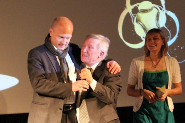 Bürgermeister Wolbergs und Gerd Otto: Lokalmatadoren unter sich