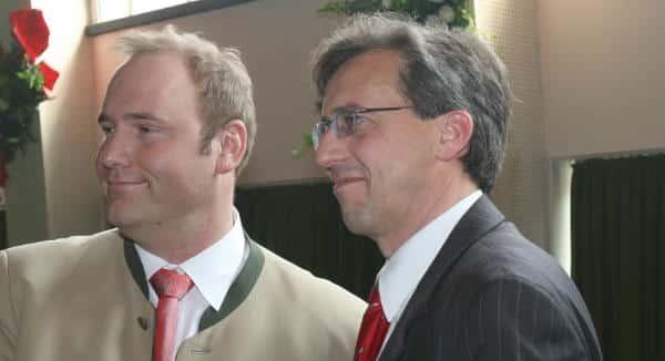 OB-Kandidat? Franz Rieger könnte sich mit Christian Schlegl arrangieren. Braucht es zuvor eine Kampfkandidatur um den Kreisvorsitz? Foto: Archiv/ Staudinger