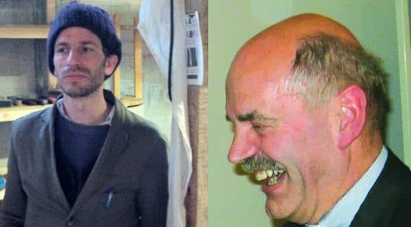 Ich Oberbürgermeister, Du nix: so einfach kann die Welt sein. Jakob Friedl (li.) und Hans Schaidinger.