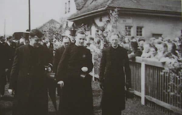 Georg Zimmermann bei seiner Primiz in Eslarn. Foto: privat
