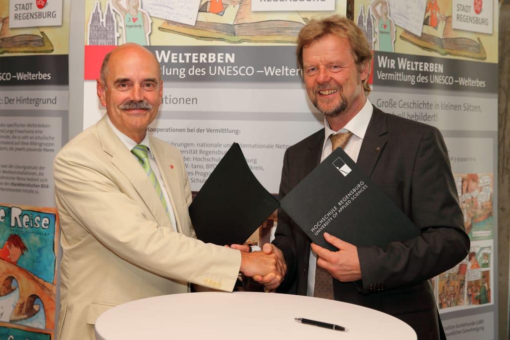 Intensive Zusammenarbeit Hochschule Regensburg und Stadt Regensburg 3