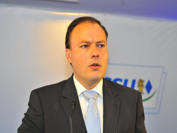 Das letzte Aufbäumen der Schlegl-Gegner? André Schreiber war der einzige, der sich zu Wort meldete. Er ist Vorsitzender der CSB.