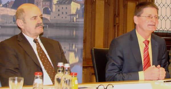 Informierten sie die Stadträte korrekt: Hans Schaidinger (li.) und Wirtschaftsreferent Daminger. Foto: Archiv