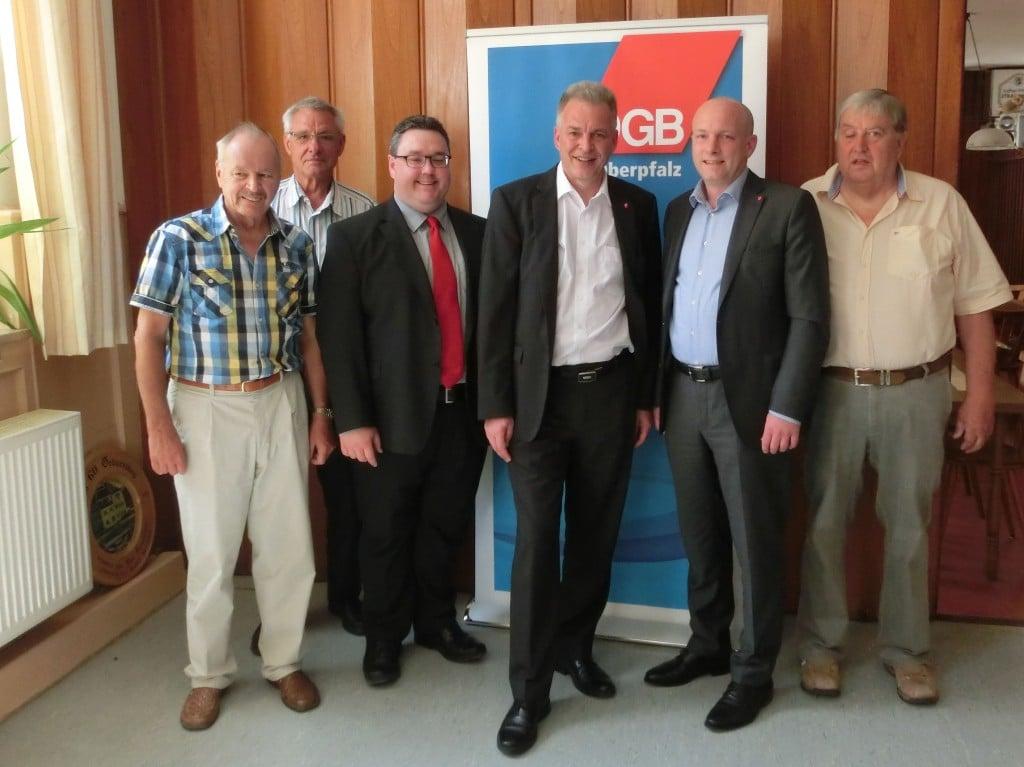 pm jena wolbergs - 3vl Christian Dietl, 4vl Matthias Jena, 5vl Joachim Wolbergs plus Vertreter Seniorengruppen