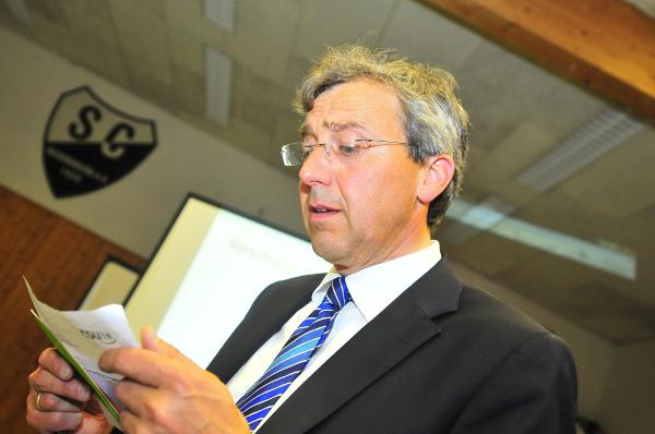 """""""Sehr zufrieden"""" - zumindest mit seinem Wahlergebnis - gibt sich Franz Rieger. Foto: Archiv/ Staudinger"""
