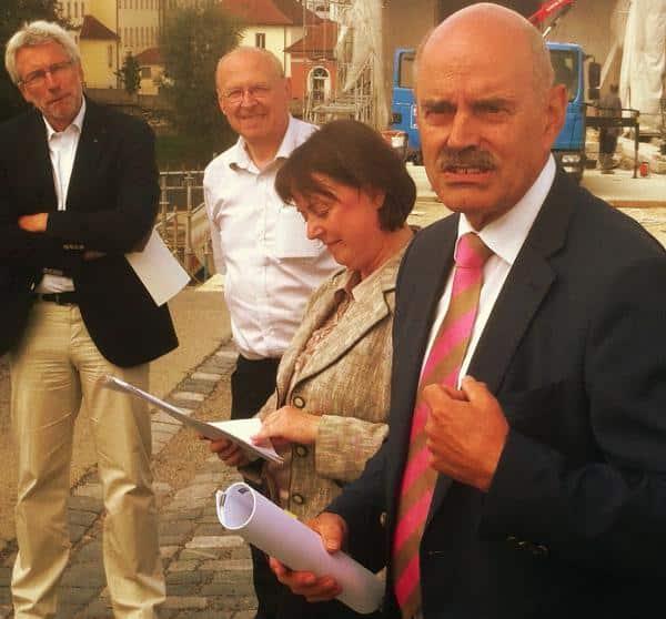 """""""Der ursprüngliche Zeitplan war nicht zu ambitioniert"""", sagt Oberbürgermeister Hans Schaidinger. Fotos: as"""