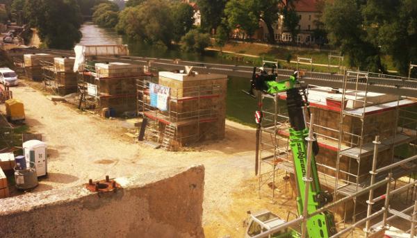 Der Neubau der Rampe soll in diesem Jahr abgeschlossen werden.