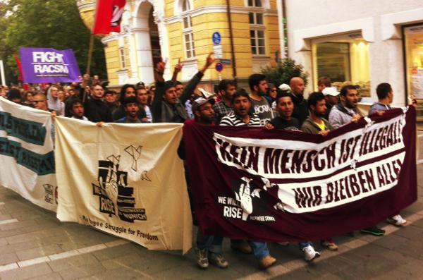 Protestmarsch Regensburg
