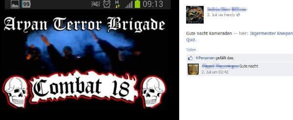 Klare Bekenntnisse: Das Facebook-Profil von Sebastian B..