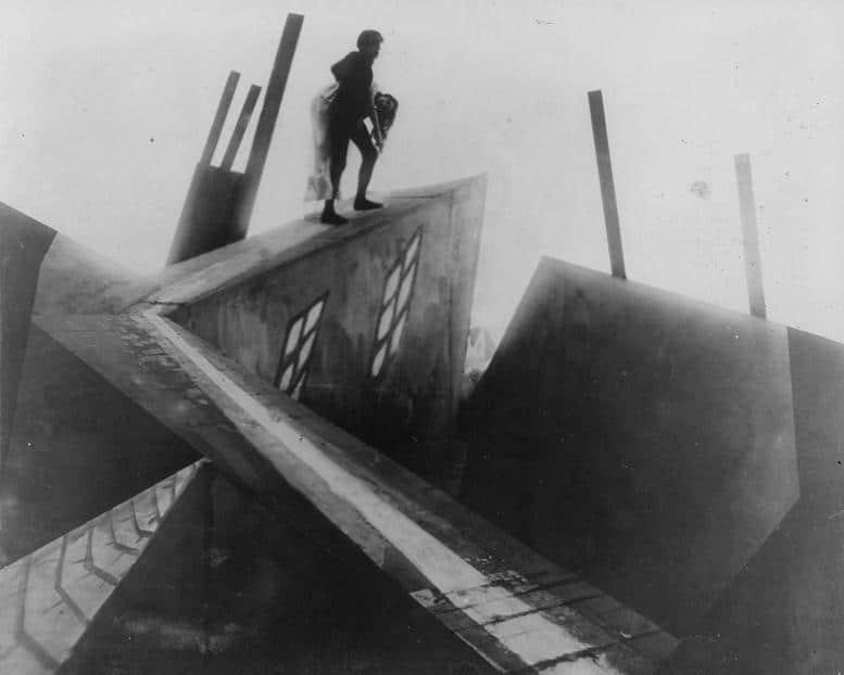 """""""Das Cabinett des Dr. Caligari"""" ist einer der berühmtesten deutschen Filme überhaupt. Bilder: Deutsches Filminstitut"""