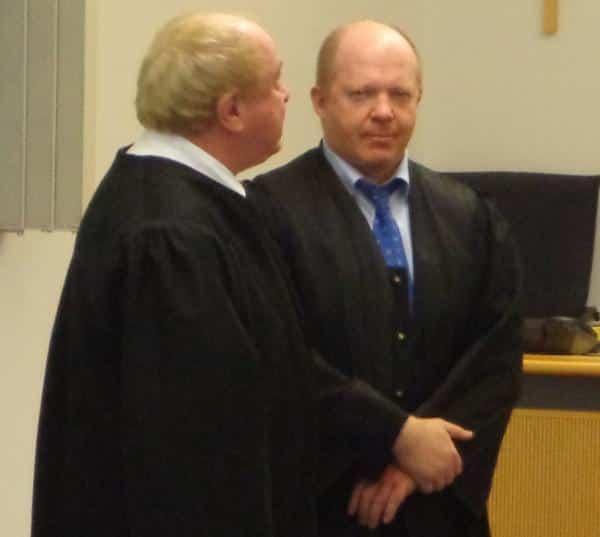 Edgar Zeiler und Andreas Geipel (v.l.): Notfalls wollen siefür ihren Mandanten bis vor den Europäischen Gerichtshof ziehen. Foto: Archiv