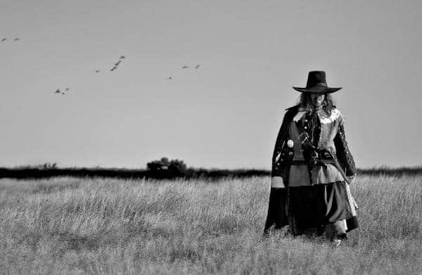 Drei Männer, ein Feld und Pilze: A Field in England. Samstag, 22.30 Uhr.