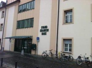 Steht ab 2017 leer: das Evangelische Krankenhaus. Foto: Archiv