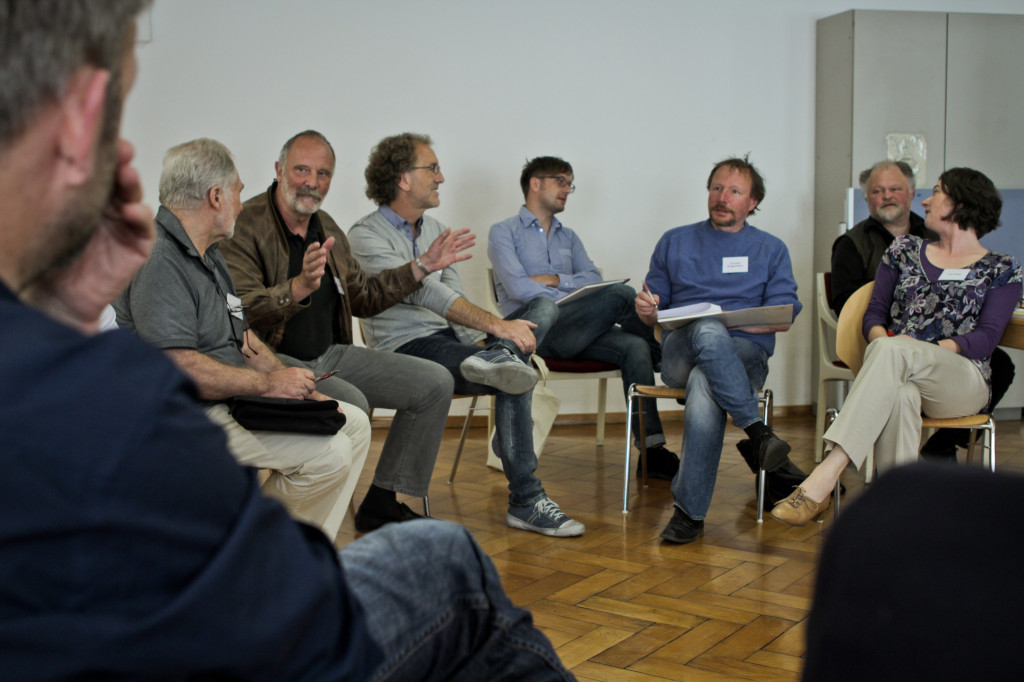 KEP-Diskussionsrunde: Der anfänglich große Enthusiasmus wurde zwischenzeitlich erheblich gedämpft. Foto: Stadt Regensburg