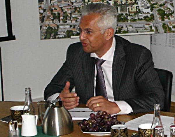 Auf dem FDP-Symposium sorgte er sich um bezahlbaren Wohnraum: IZ-Vorstandschef Thomas Dietlmeier.