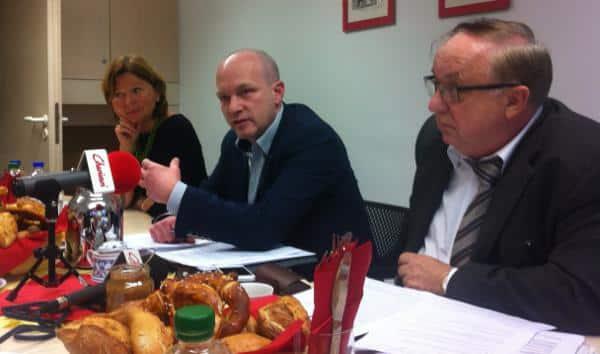 Mehr Inhalte? Die SPD-Trinität aus Wild, Wolbergs und Hartl will künftig jeden Montag umfangreiche Thesenpapiere vorstellen.