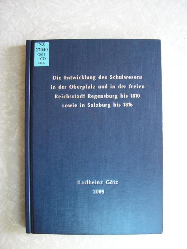 350 Seiten, schlichter Einband: Die Götz-Arbeit in der Staatlichen Bibliothek.