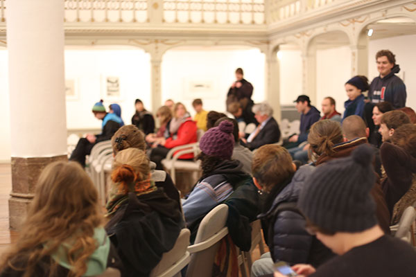 Etwa 50 Zuhörer waren bei den beiden Verhandlungen anwesend.