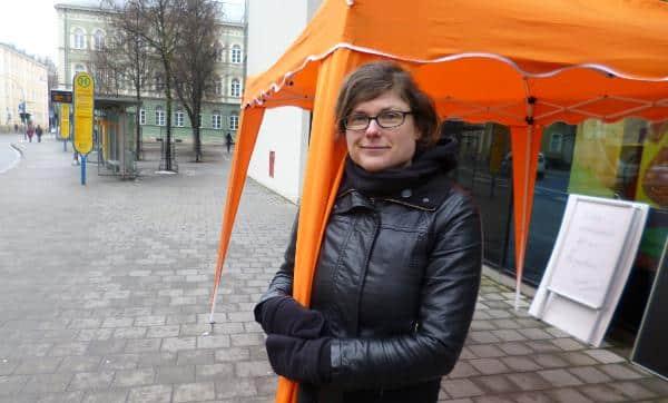 """""""Gefahr des Missbrauchs."""" Tina Lorenz stimmte gegen die neue Richtlinie. Ebenso Tobias Hammerl. Foto: archiv"""