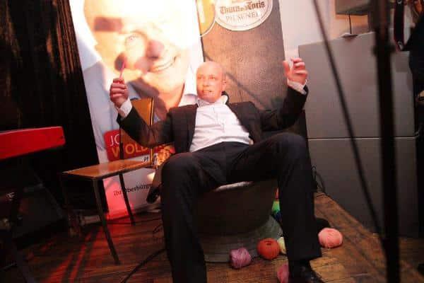"""""""Gewählt, um Träume zu erfüllen."""" Joachim Wolbergs nach der gewonnenen Stichwahl im März 2014. Foto: Archiv/ Baumgärtner"""