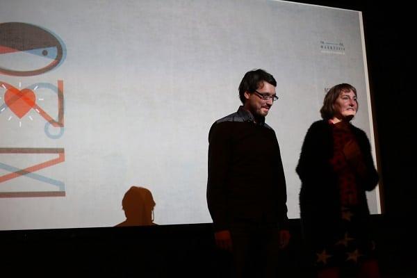Philipp Weber und Insa Wiese sind die beiden hauptamtlichen Organisatoren der Kurzfilmwoche.