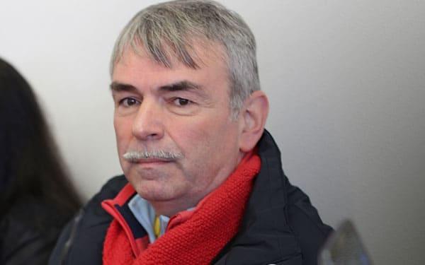 Als Unterstützer von Ilona Haslbauer am Landgericht: Gustl Mollath. Foto: Liese