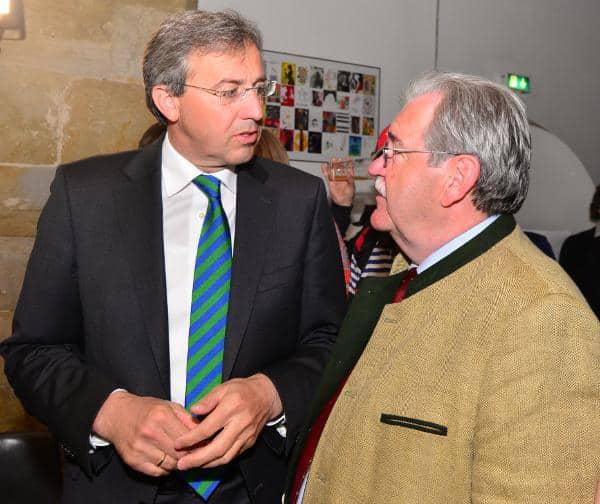 Das aktuelle Führungsduo der Regensburger CSU: Franz Rieger und Hermann Vanino. Foto: Staudinger
