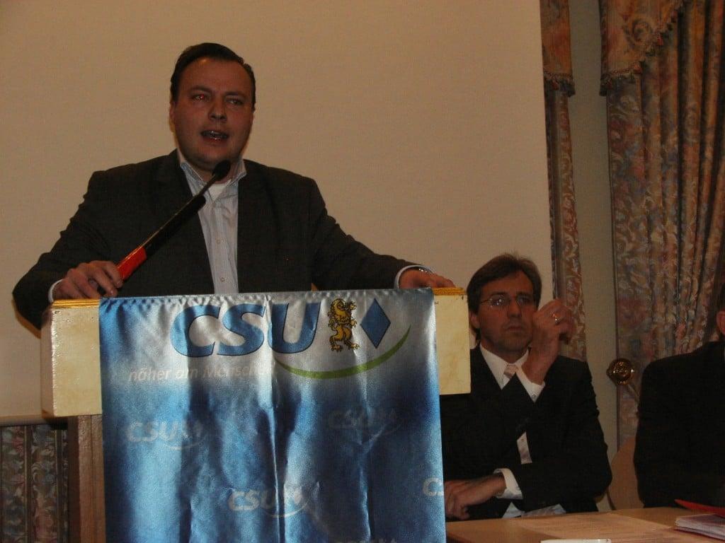 Trat wenige Stunden vor der Wahl aus der CSB aus: Vorsitzender André Schreiber.