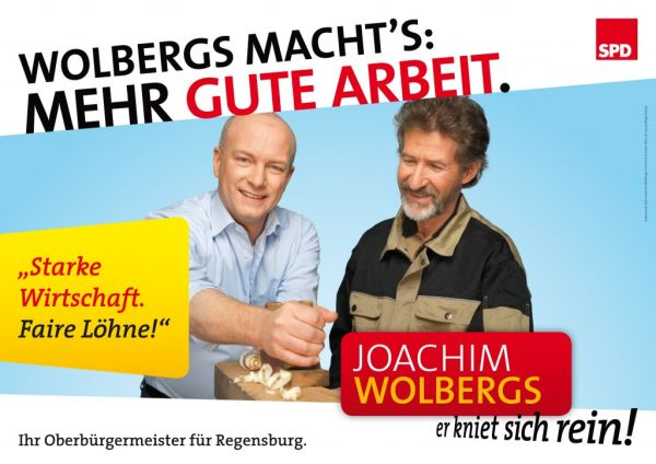 Handwerker unter sich. (Quelle: SPD-Stadtverband Regensburg)