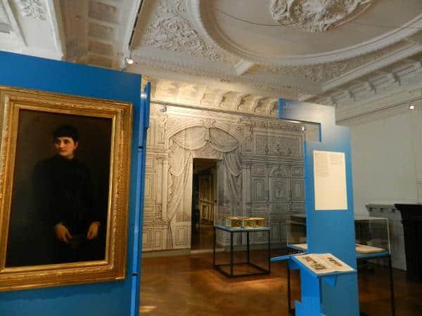 """Die Ausstellung """"Jüdisches in Bamberg"""" wird bis 1. Juli 2014 in der Villa Dessauer gezeigt."""
