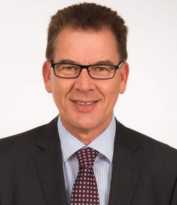 Schrieb als JU-Vorsitzender seine Doktorarbeit über die JU: Gerd Müller. Foto: pm