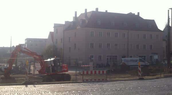 Der Hunnenplatz 5 heute. Demnächst wird das Haus abgebrochen. Foto: as