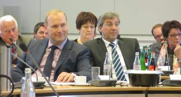 Gewöhnen an die Oppositionsrolle: Blick auf die CSU-Bank.