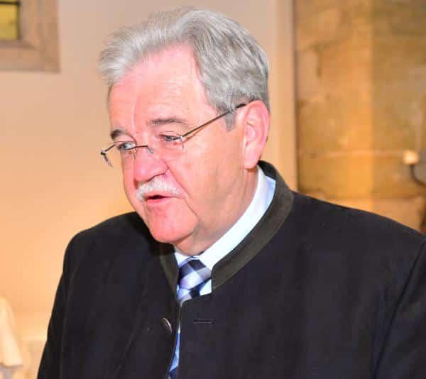 """""""Wir machen das nicht einfach so."""" Hermann Vanino zur CSU-Beschwerde bei der Regierung. Foto: Archiv/ Staudinger"""
