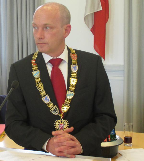 """""""Das weiß man ja bei Ihnen nicht immer so genau."""" Oberbürgermeister Joachim Wolbergs. Foto: as"""
