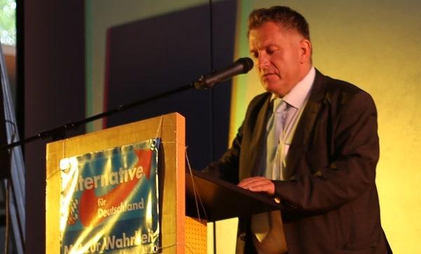 Afd_Bezirkschef Menschel. Foto: ld