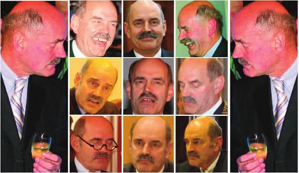 Die vielen Gesichter des Hans Schaidinger.