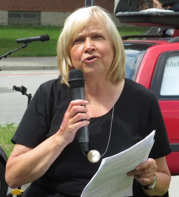 Engagiert sich seit Jahren für Haslbauers Entlassung: Dr. Doris Simon.