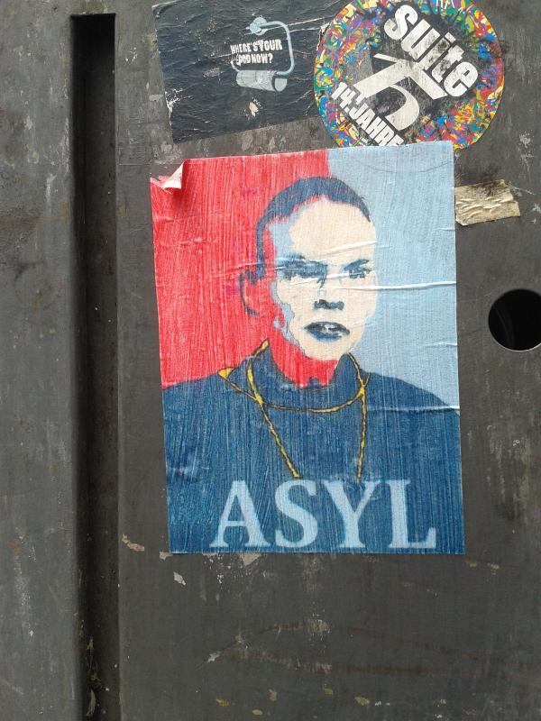 Skandal-Bischof mit Streetcredibility: Asyl für Tebartz-van Elst. Foto: Danzl