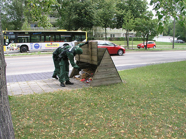 """Polizei und Staatsanwaltschaft hatten schon Anfang September vermeldet, dass die Vergewaltigung in der Isarstraße """"so nicht stattfand"""". Nun wird gegen das vermeintliche Opfer ermittelt. Foto: Archiv / Polizei."""