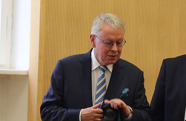 Kein angenehmer Verhandlungstag für Mollath-Anwalt Gerhard Strate. Foto: Liese