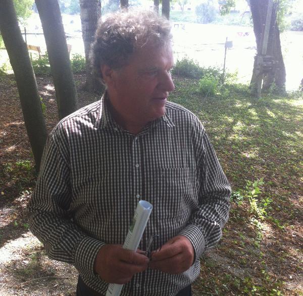 """Walter Cerull: """"Nachfragen werden nicht beantwortet."""" Foto: as"""