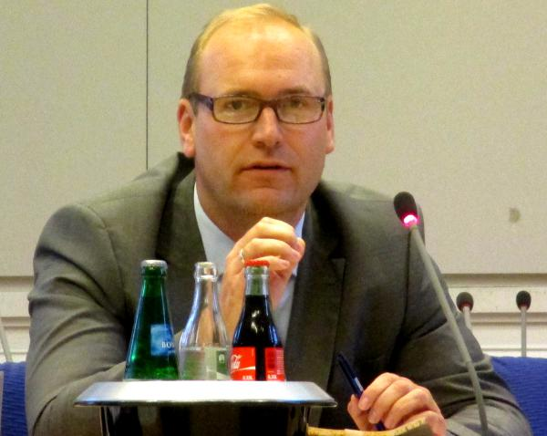 """Christian Schlegl: """"Was schon entschieden ist, nicht in den Stadtrat."""" Foto: as"""