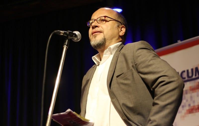 Marek Nekula, Leiter des Bohemicums, eröffnete den Abend.