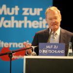 Sorgte für Clinch in seiner Partei:  der stellvertretende AfD-Sprecher Hans Olaf Henkel. Foto: pm