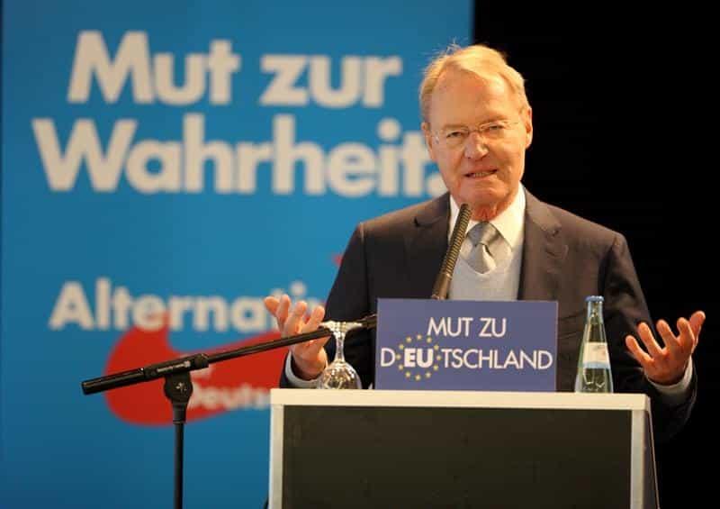 Sorgte für Clinch in seiner Partei:  der stellvertretende AfD-Sprecher Hans-Olaf Henkel. Foto: pm